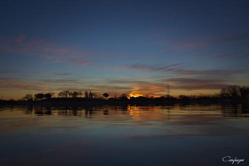 amanecer sunrise sol sun agua water paisaje landcape