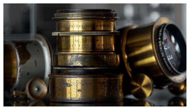 Hugo Meyer & Co Goerlitz Aristostigmat 1:7.7 No 7 F = 360mm (1904)