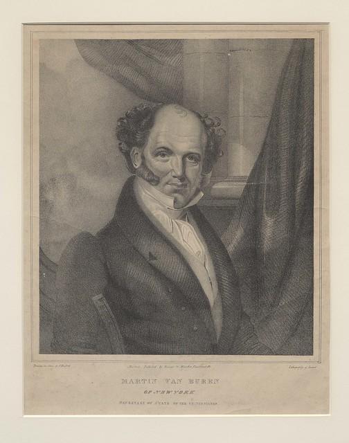 Van Buren Engraving