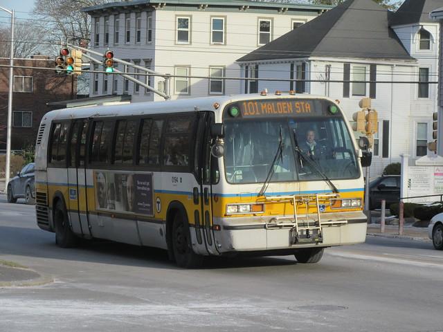 MBTA Nova Bus RTS