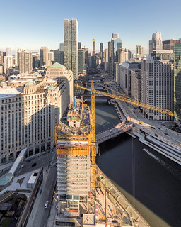 Wolf Point East construction, November 13, 2018   by YoChicago