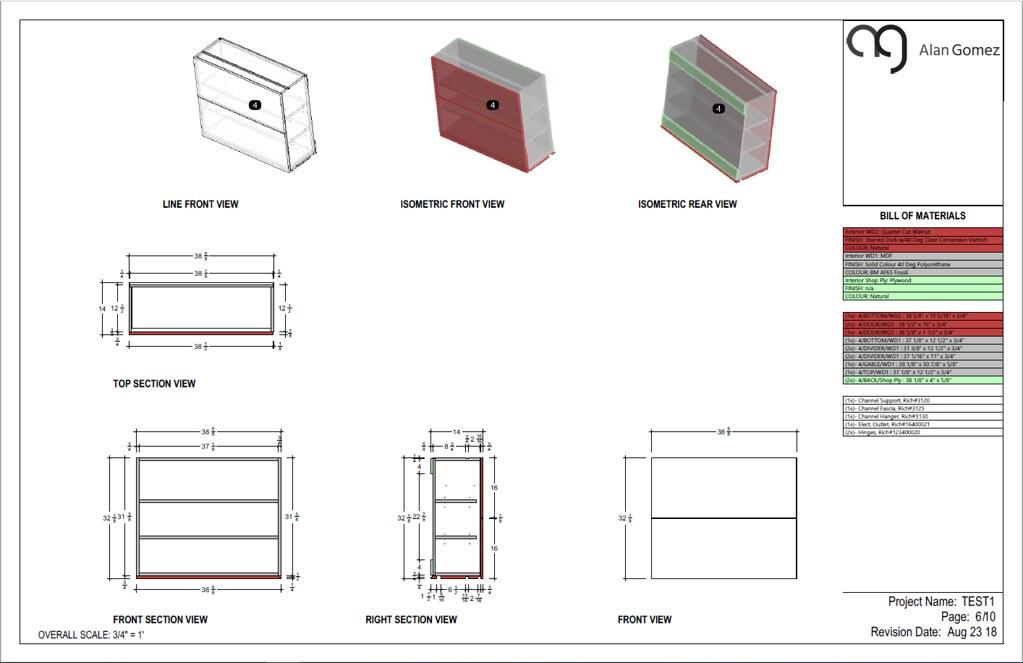 Kitchen Cabinets Design Visualarq