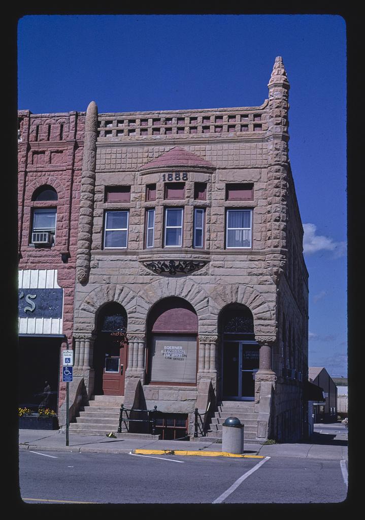 Law offices (1888), Second Street, Ida Grove, Iowa (LOC)
