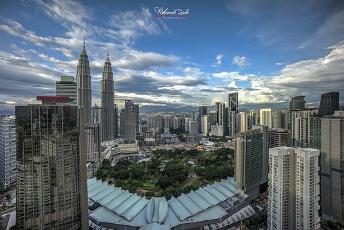 Rainbow at noon in Kuala Lumpur City Center with beautiful clouds formation | by Mohamad Zaidi Photography