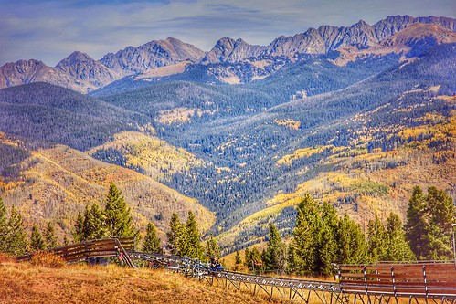 highaltitude highelevation mountains panoramic scenic landscape colorful autumn fall colorado vail