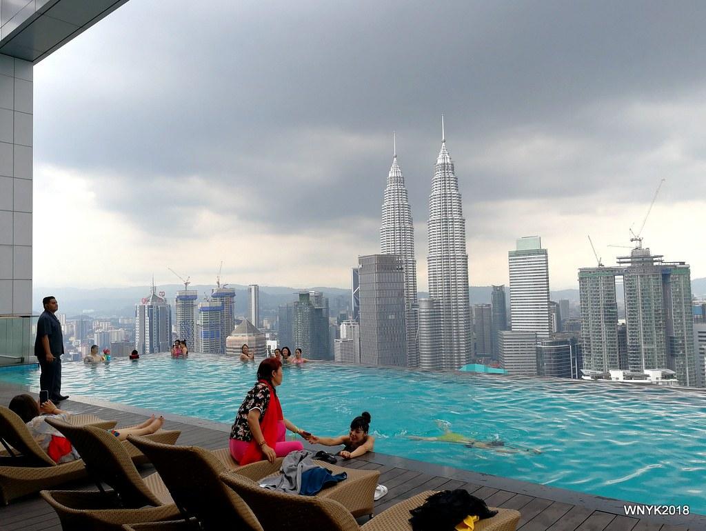 Infinity Pool: KLCC  The Face Suites,Kuala Lumpur  williamnyk