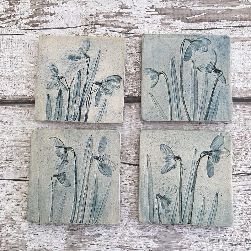 Snowdrops ceramics