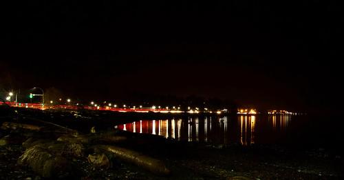 lighttrails longexposure driftwood nikon d3400 affinity tamron18400 campbellriver reflections