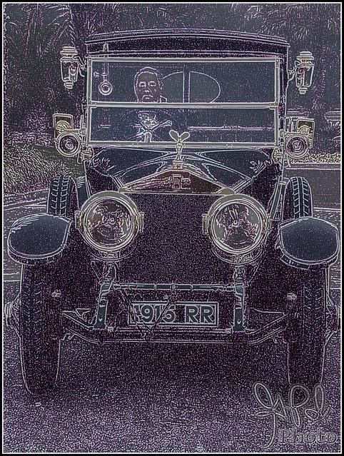 1915 Rolls Royce Silver Ghost at Amelia Island 2009