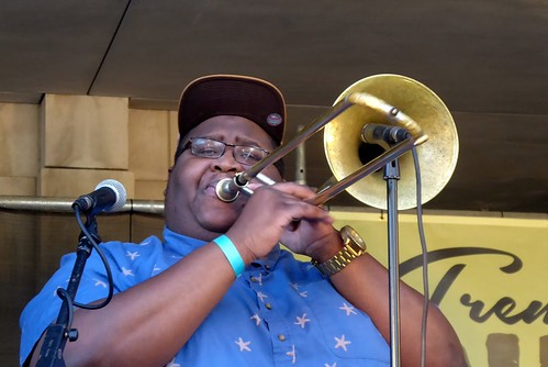 Free Agents at Treme Creole Gumbo Fest 2018. Photo by Louis Crispino.