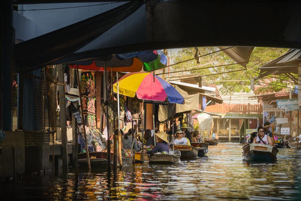 Damnoen Saduak Floating Market | Last day in Bangkok and we … | Flickr