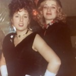 Me, Wendy Barnes, costume party London 1977