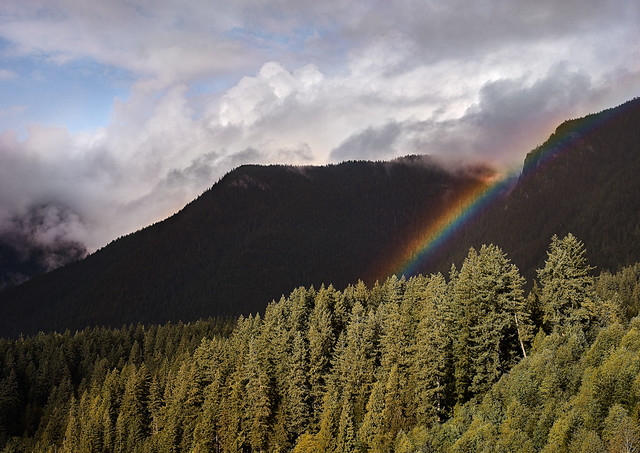 Rainbow, Crown Mountain