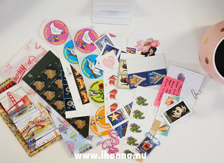 Pink Happy Mail - stickers, stamps and ephemera | by iHanna