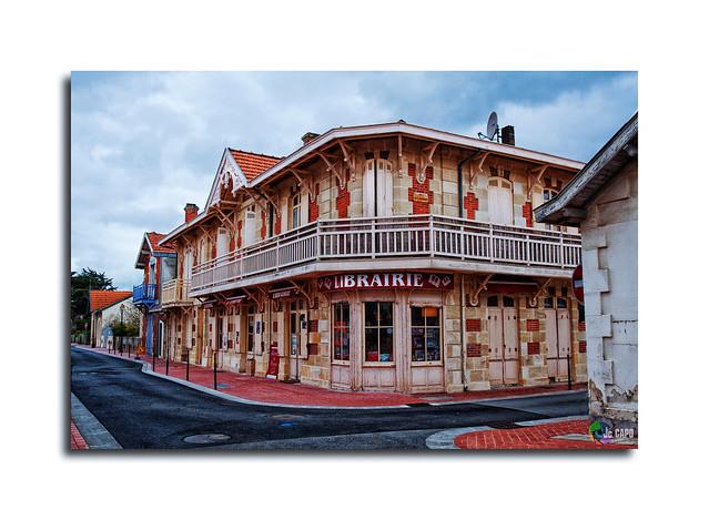 la librairie Soulac Gironde