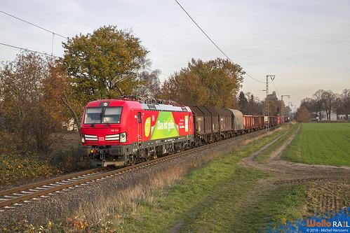 193 312 DB Cargo . Dülken .14.11.18 .