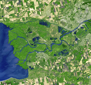 Rostov-on-Don, a Russian City on the Don River, 32 kilometers from the Sea of Azov. Original from NASA. Digitally enhanced by rawpixel.