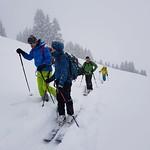 Fondue Skitour Roggenstock Feb 19'