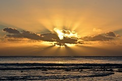 Niue sunset