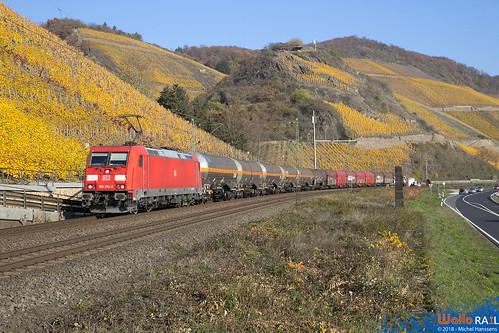 185 373 DB Cargo . Boppard . 17.11.18.