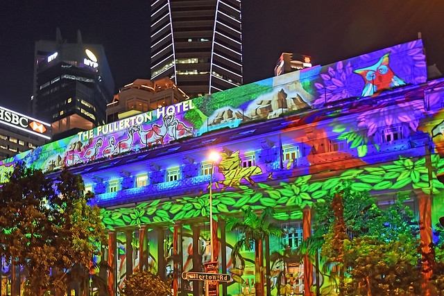 Light Projection Show