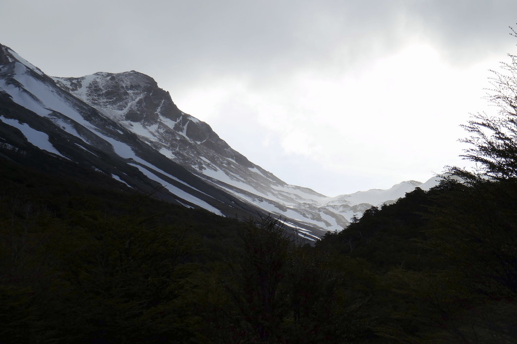 Clearish View towards John Gardner Pass