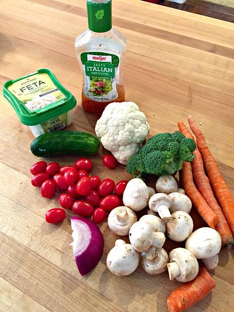 raw veggetables