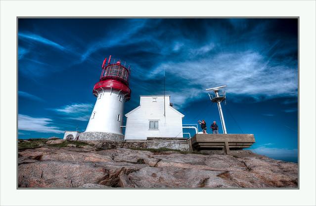 Norwegian Lighthouse - Lindesnes