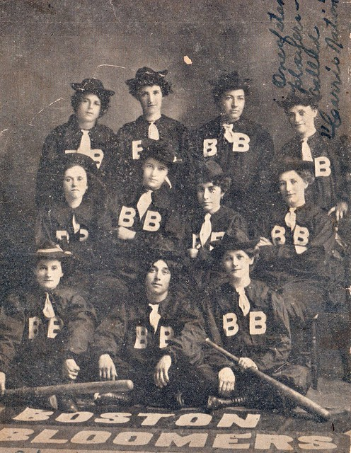 SCN_0047 Oct 1902 Boston Bloomers played a Pville team on ground where Hardins house later was built star player Carrie Nation