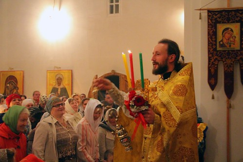 Пасхальное Богослужение в Свято-Никольском храме станицы Кавказской IMG_1287