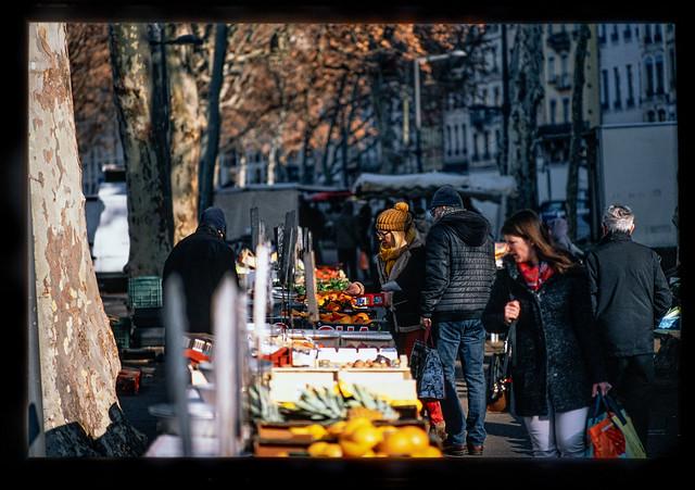 Marché St Antoine Celestins, Lyon