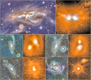 Smashing Galaxies Together for Bigger Black Holes, variant | by sjrankin