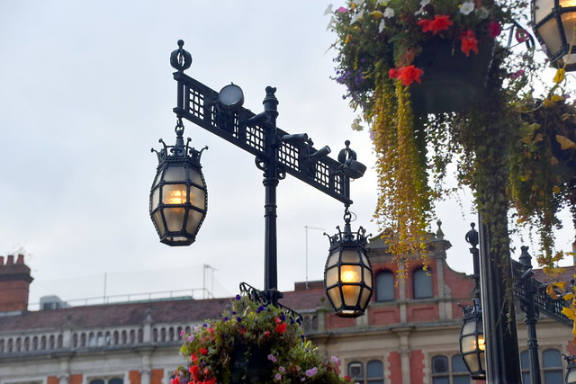 Lamps at The Council House