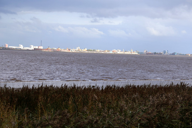Kingston-upon-Hull viewed from New Holland
