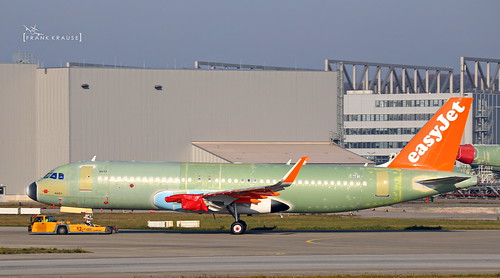 G- EasyJet Airbus A320neo cn 8681 | by thule100