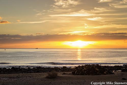sunrise lanzarote seascape dslr
