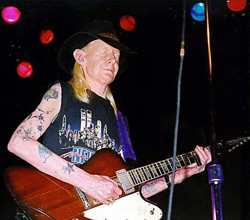 Johnny Winter Live at the Bottom Line Club, New York City
