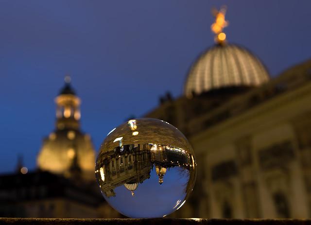 Dresden, Frauenkirche und Hochschule für Bildende Künste Dresden