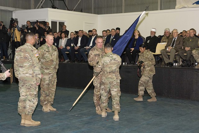 KFOR   MNBGE Change of Command Ceremony