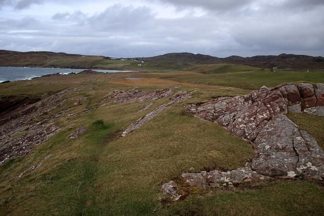 Coast path north of Clachtoll