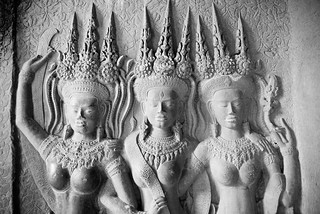 Khmer divinities | Angkor, Cambodia | by As Deni