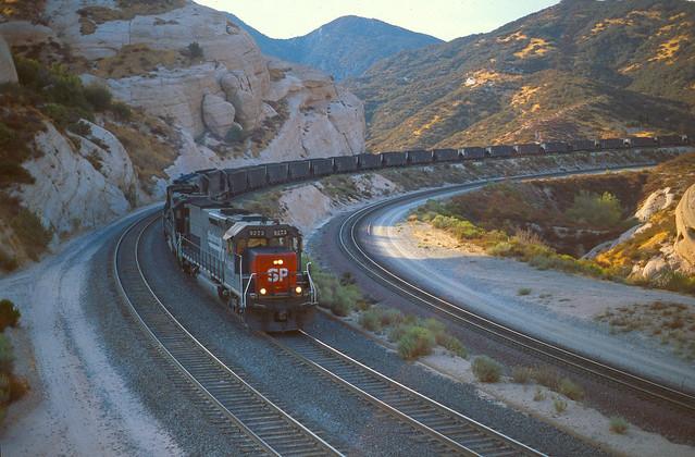 SP9273 west Canyon siding Sept 94