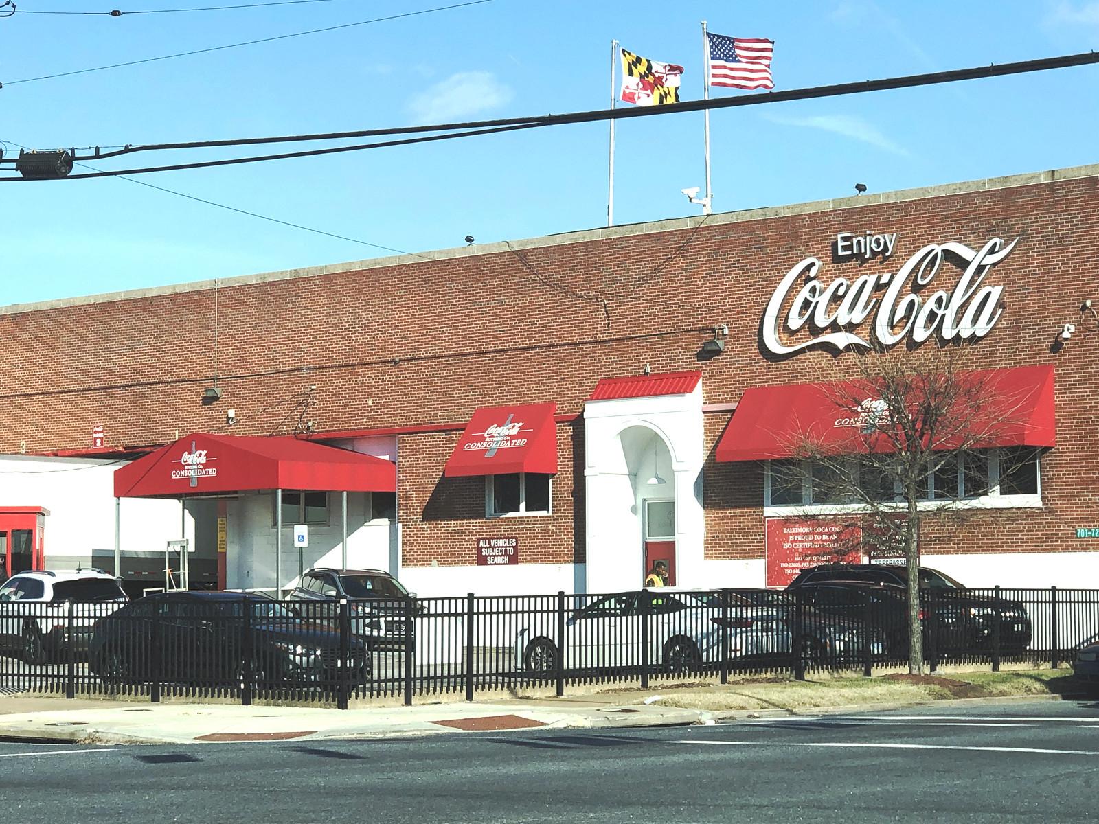 Coca Cola-Awnings