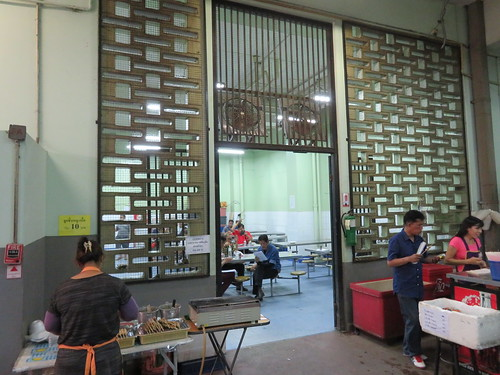 ロイヤルバンコクスポーツクラブの1階の食堂