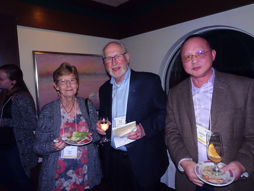 Carol and Doug Fast and X. Liu | by Wisconsin ACS Local Section