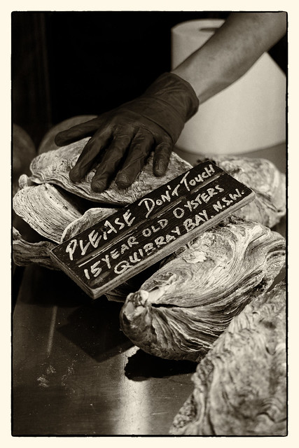 A Dozen Oysters Kilpatrick Please
