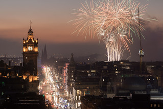 Fireworks display in Edinburgh | by Edu_RM