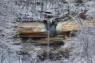 Snow framed Falls | by Bernie Kasper (5 million views)