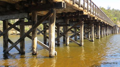 boddington bridge timberbridge river ubl