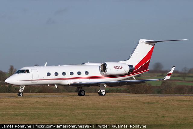 N505UP | Gulfstream IVSP | SLAN LLC